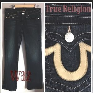 🇺🇸[True Religion](32) Billie straight jeans👖